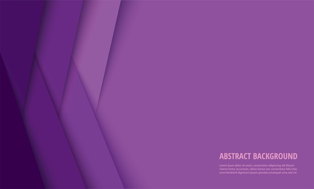 Fond abstrait lignes violettes modernes