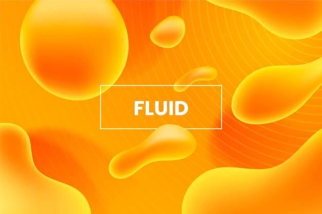 Fond abstrait liquide dégradé