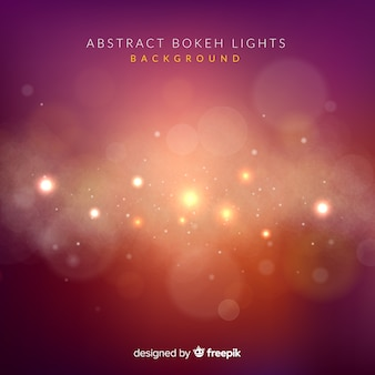 Fond abstrait lumières bokeh
