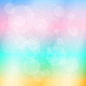 Fond abstrait lumineux flou coloré doux. illustration vectorielle