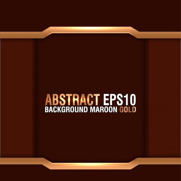 Fond abstrait marron or