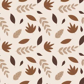 Fond abstrait motif floral organique. illustration vectorielle.