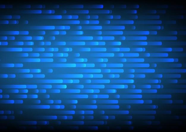 Fond abstrait de mouvement de ligne bleue