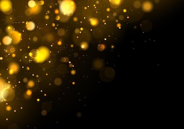 Fond abstrait noir et blanc ou argent glitter. blanc poussière. des particules de poussière magiques scintillantes. concept magique.