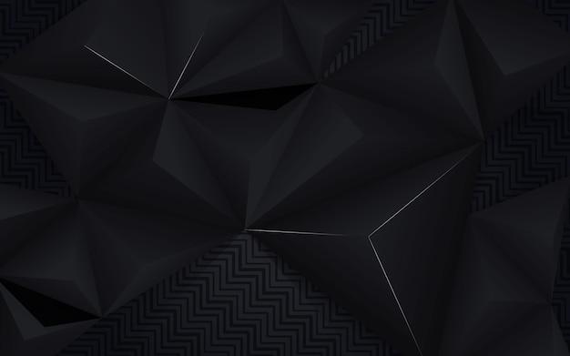 Fond abstrait noir