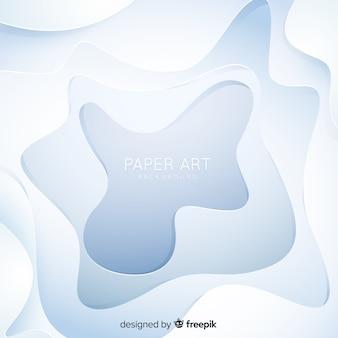 Fond abstrait ondulé