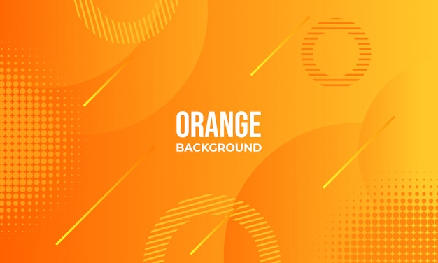 Fond abstrait orange