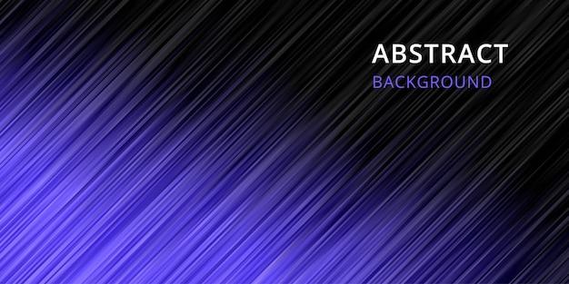 Fond abstrait. papier peint à rayures en couleur bleu violet noir