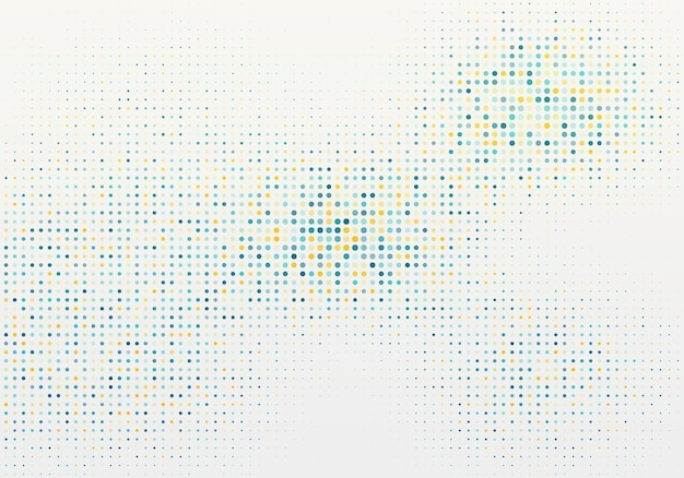 Fond abstrait de particules d'or