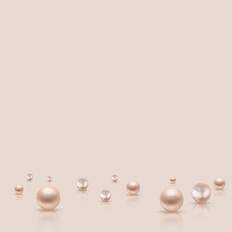 Fond abstrait perle pastel naturel.