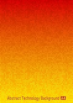 Fond abstrait pixel coloré