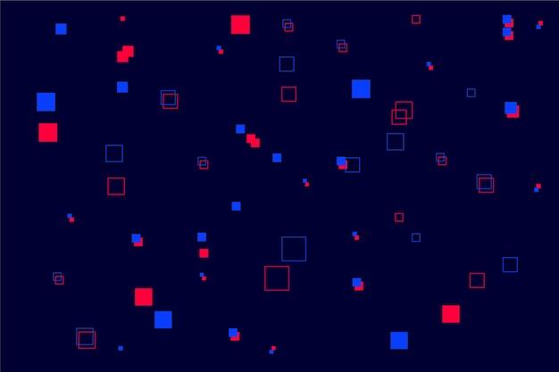 Fond abstrait pixel pluie