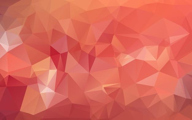 Fond abstrait polygonal composé de triangles