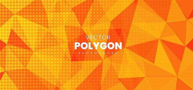 Fond abstrait polygone