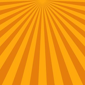 Fond abstrait de rayons de soleil