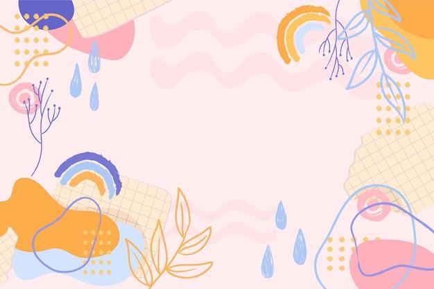 Fond abstrait rose pastel mignon