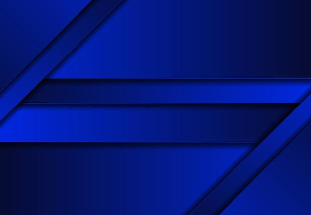 Fond abstrait tech bleu dégradé