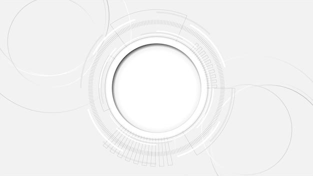 Fond abstrait de la technologie illustrationhitech communication concept innovation fondscience et technologie fond numérique