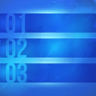 Fond abstrait technologie vecteur bleu