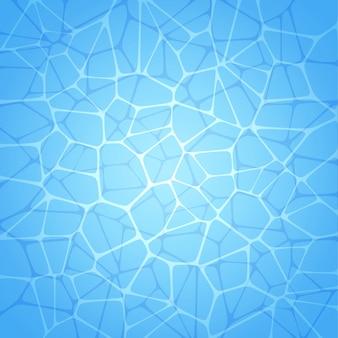 Fond abstrait avec une texture de piscine