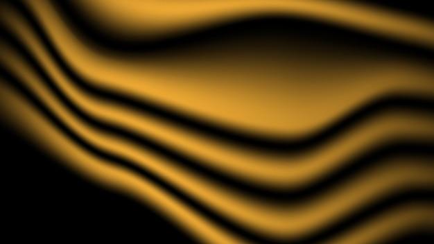 Fond abstrait de texture de tissu de satin doux d'or pour la conception graphique décorative