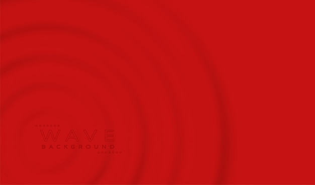 Fond abstrait vagues rouges