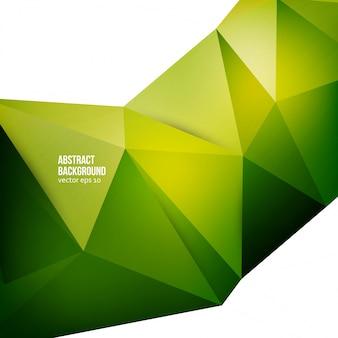 Fond abstrait vectoriel. origami géométrique