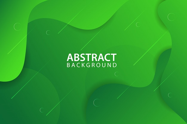 Fond abstrait vert