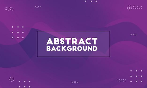Fond abstrait violet dynamique