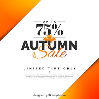 Fond d'affaire d'automne élégant