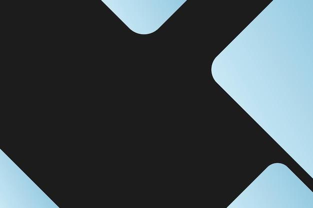 Fond d'affaires noir avec des blocs bleus