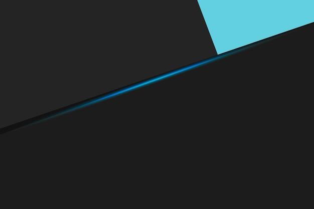 Fond d'affaires noir avec des stries bleues