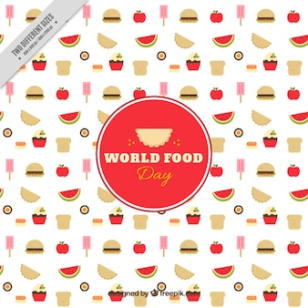 Fond agréable de la journée alimentaire mondiale