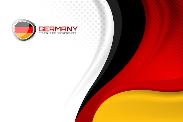 Fond allemand pour la fête des nations