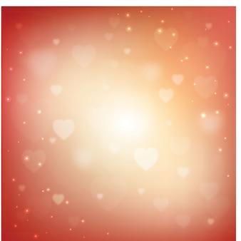 Fond d'amour brillant