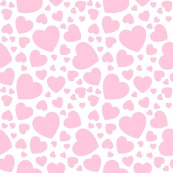 Fond d'amour avec des coeurs