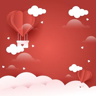 Fond d'amour pour la saint valentin