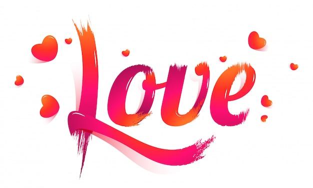 Fond d'amour.