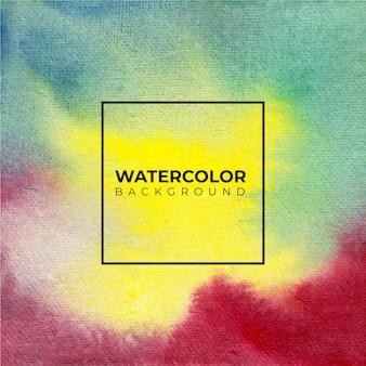 Fond aquarelle abstrait coloré pour les arrière-plans de textures