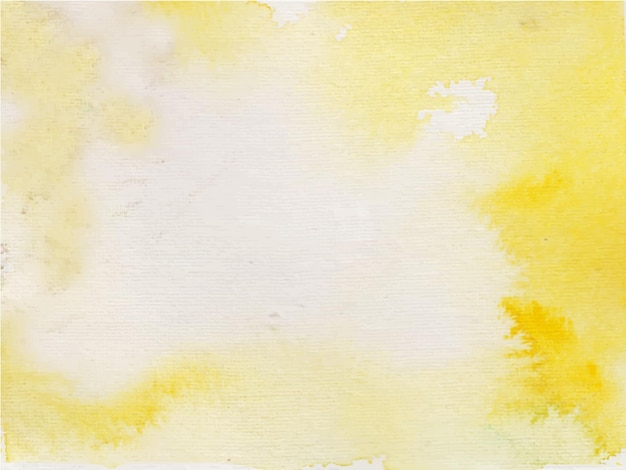 Fond aquarelle abstrait orange jaune pour les arrière-plans de textures