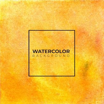 Fond aquarelle abstrait orange pour les arrière-plans de textures