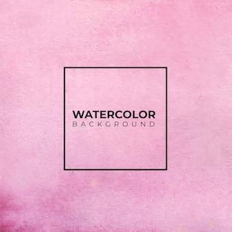 Fond aquarelle abstrait rose, peinture à la main. éclaboussures de couleur sur le papier