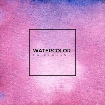 Fond aquarelle abstrait violet, peinture à la main.