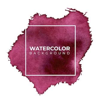Fond aquarelle abstrait violet pour les arrière-plans de textures
