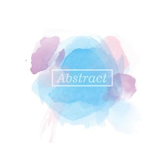 Fond d'aquarelle abstrait