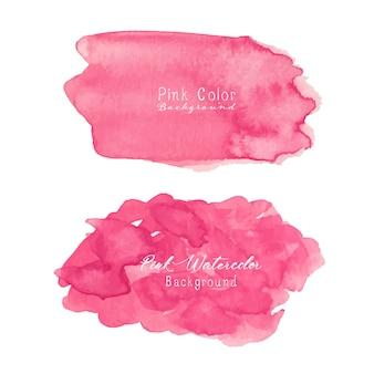 Fond aquarelle abstraite rose.