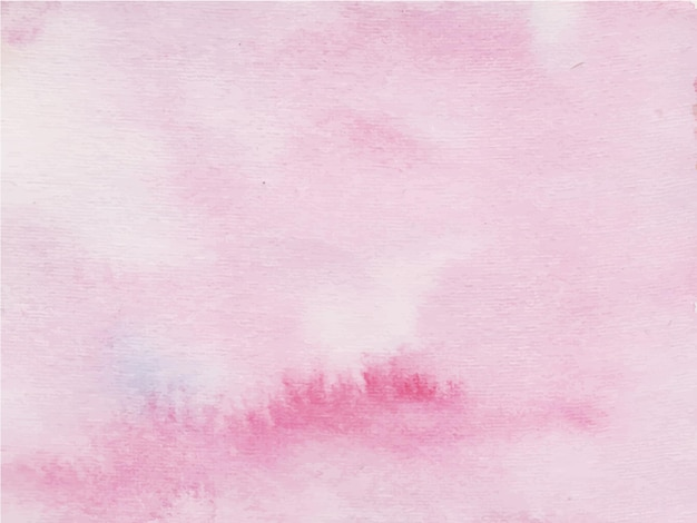 Fond aquarelle abstraite rose.