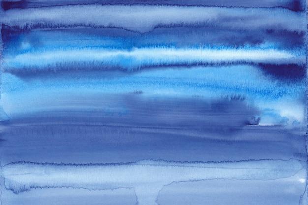 Fond aquarelle bleu foncé peint à la main