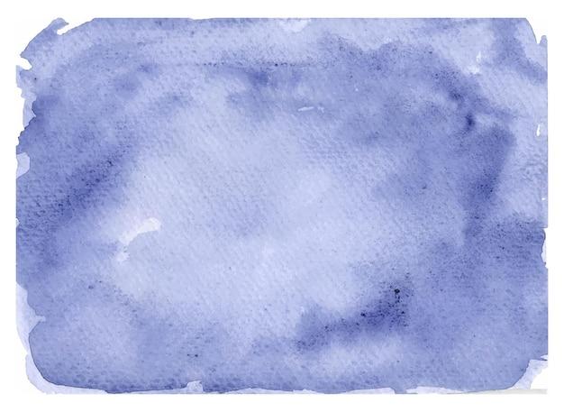 Fond Aquarelle Bleu Marine Océan Vecteur Premium