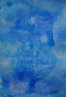 Fond aquarelle bleu pour les textures et les arrière-plans